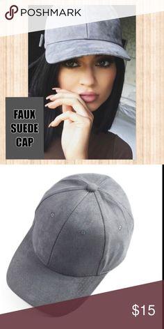 689db143f36af Selling this SUEDE CAP 🆕 on Poshmark! My username is  kmlchurchill.   shopmycloset  poshmark  fashion  shopping  style  forsale ...
