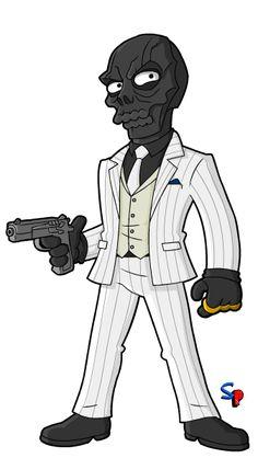Springfield Punx: Arkham Origins' Black Mask