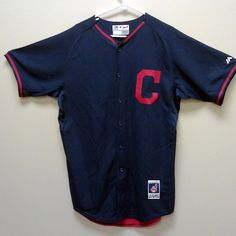 NEW w/ Tags - Cleveland Indians Majestic Cool Base Jersey #Majestic #ClevelandIndians