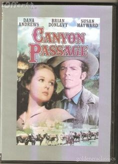 """Susan Hayward and Dana Andrews in this neglected but brilliant Western directed by Jacques Tourneur (""""Out of the Past"""" and """"Cat Woman"""")"""