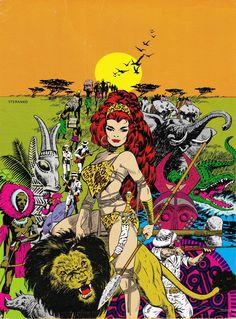 Art from Comic Artist Jim Steranko.