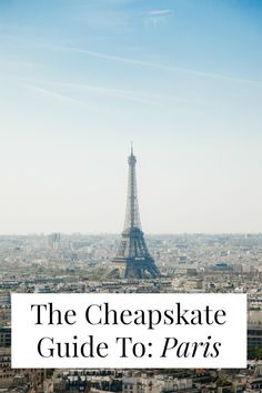 Can Paris be cheap?