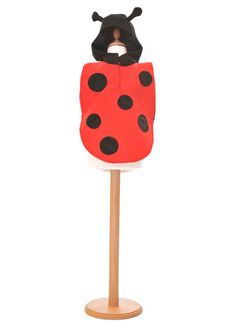 Ladybird Hooded Tabard by Pretend To Bee