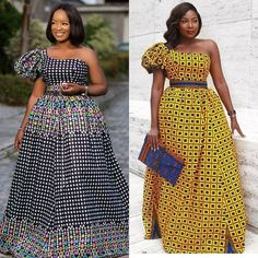 Spiffy Fashion Ankara Gown Styles For That Special Occasion - African Fashion African Bridesmaid Dresses, African Dresses For Kids, African Wear Dresses, Latest African Fashion Dresses, African Print Fashion, African Attire, African Prints, Ankara Gown Styles, Ankara Gowns