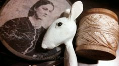 The Goode Wife of Washington County: Life Wrapped In Love ©2014 Stacey Mead Paper Clay Sculpt  Queen Anne inspired doll