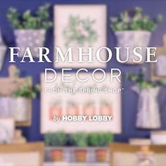 Fill your home with must-have items from the Spring Shop™! We have simple decorating tips and unique home decor that will give your home a breath of fresh air. Cottage Signs, Breath Of Fresh Air, New Builds, Unique Home Decor, Video Tutorials, Hobby Lobby, Getting Organized, Decorating Tips, Farmhouse Decor