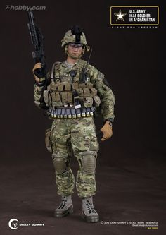 CRAZY DUMMY US Army ISAF Soldier In Afghanistan $138.00