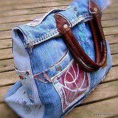 Bolsa Jeans reciclado: My Bag Jeans primeiro