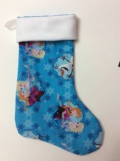 A personal favorite from my Etsy shop https://www.etsy.com/listing/213170972/handmade-christmas-stocking-disneys