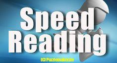 Schnelllesen oder das sogenannte Speed Reading ist die erlernte Fähigkeit, sehr schnell Texte zu lesen und natürlich auch zu verstehen und idealerweise im Gehirn abzuspeichern. Speed Reading, Training, Study Techniques, Brain, Products, Work Outs, Excercise, Onderwijs, Race Training