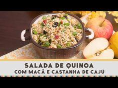Salada de Quinoa com Maçã - Receitas de Minuto EXPRESS #160 - YouTube