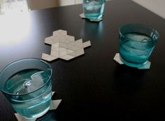 CLUSTER Coasters — ACCESSORIES -- Better Living Through Design