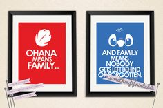 Ohana  Disney's Lilo & Stitch Inspired by SomethingPrintable