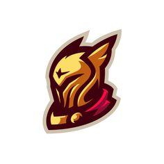 Set of 16 logos / avatars / mascots / illustrations for Xbox live portal Logo Esport, Logo Branding, Branding Design, Renard Logo, Logo Inspiration, Knight Logo, Hockey Logos, Game Logo Design, Esports Logo
