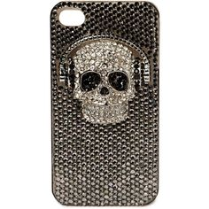 Friis & Company Frix Iphone 4 Case ($24) ❤ liked on Polyvore featuring accessories, tech accessories, phone cases, phones, iphone, cases, as is, apple iphone case, rhinestone iphone case and iphone cases
