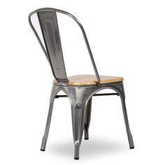 Silla Tolix style madera2