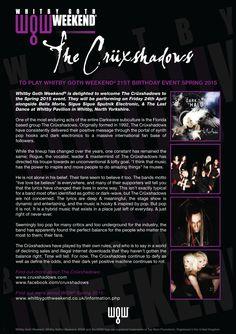 The Cruxshadows - WGW 2015 Spring