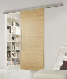 sliding wood door