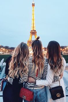 Eiffel Tower and friends I Paris: http://www.ohhcouture.com/2017/03/monday-update-45/ #ohhcouture #leoniehanne (Best Friend Pictures)