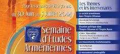 Séminaire d'Etudes avec La Croix Bleue des Arméniens de France - Culture et communication