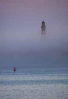 Lighthouse in the Mist - Thatcher Island