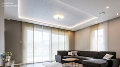 Azzardo Strato és Azzardo Caro mennyezti lámpák Utca, Divider, Curtains, Living Room, Furniture, Home Decor, Blinds, Decoration Home, Room Decor