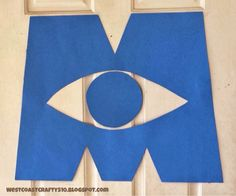 Monsters University Party Decorations. WestCoastCrafty: Monsters University Party