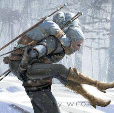 The Witcher Wild Hunt Image - Zerochan Anime Image Board Ciri Witcher, The Witcher Geralt, Witcher Art, The Witcher Wild Hunt, The Witcher Game, Character Concept, Character Art, Witcher Wallpaper, The Witcher Books