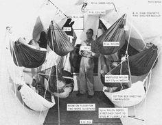 Fallout Shelter hammock array