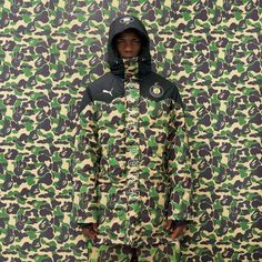 PUMA X BAPE As part of its upcoming Fall/Winter 2015 collection, PUMA has partnered with BAPE on a collection of four sneakers featuring three of PUMA's most popular silhouettes and range of apparel. Italian Serie A striker Mario Balotelli is the face of a new FW15 collaboration between the German and Japanese labels.
