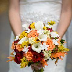 Country Orange Weddings