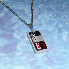 NES necklace!