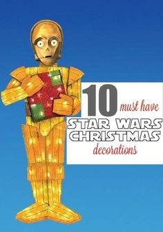10 Must Have STAR WARS Christmas Decorations.