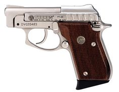 MODEL 25 .25 ACP PISTOL WITH CHECKERED WOOD GRIPS
