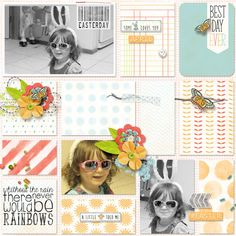 GingerScraps :: Templates :: Day By Day 4
