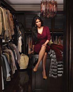 From Kim Kardashian to Rachel Zoe: 10 Amazing Celebrity Closets Estilo Kardashian, Kim Kardashian Closet, Kardashian Style, Kardashian Jenner, Celebrity Closets, Celebrity Houses, Charlotte Olympia, Girls Dream Closet, Dream Closets