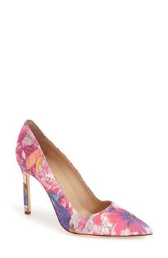 Manolo Blahnik 'BB' Pointy Toe Pump (Women) available at #Nordstrom