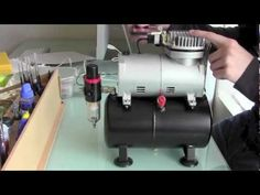 Airbrushing For Beginners - Setup - YouTube