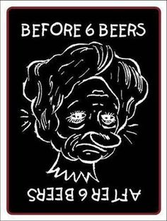 hilarious Before And After Six Beers before-six-beers