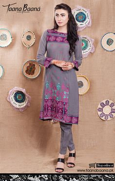 Taana Baana Elegance Fall/Eid-Ul-Adha Dresses 2015 for Women  http://clothingpk.blogspot.com/2015/08/taana-baana-elegance-eid-dresses-for-women.html