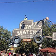 #cars #Disney #disneyland #la #california #sign #mater #towmater #usa #travel #vacation #travelgram #wanderlust by iain_cats