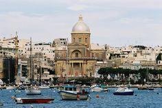 Kalkara, Malta l Malta Direct will help you plan an incredible getaway Malta Island, Southern Europe, St Joseph, Archipelago, Beautiful Islands, Capital City, Historical Sites, Old Photos, Taj Mahal