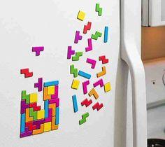 Tetris Magnet Set – $7