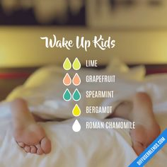 Wake Up Kids - Essential Oil Diffuser Blend