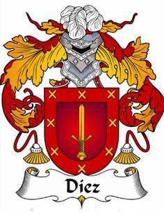 Diez family crest