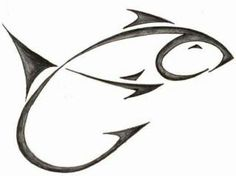 ideas for drawing ink fish Fishing Tips, Fishing Lures, Fly Fishing, Fishing Knots, Saltwater Fishing, Hook Tattoos, Fish Tattoos, Trout Tattoo, Accessoires Kayak