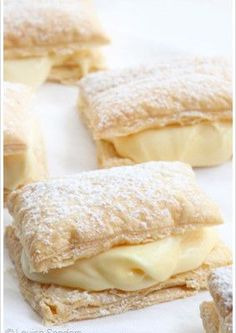 Easy Custard Slices