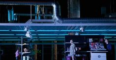 Die Besessenen. Thea - Die Besessenen. Theater an Der Wien. Scenic design by Steffen Aarfing. --- #Theaterkompass #Theater #Theatre #Schauspiel #Tanztheater #Ballett #Oper #Musiktheater #Bühnenbau #Bühnenbild #Scénographie #Bühne #Stage #Set