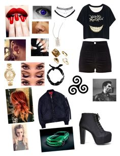 """We're all mad"" by lumsdenk on Polyvore featuring River Island, Speed Limit 98, Wet Seal, Metal Pressions, Michael Kors, New Look, Studio Concrete and Edition"