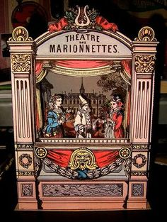 Want to make your own vintage paper theatre?  Here's a link to where you can get the materials:   Agence Eureka on Flickr .  It's definitely...